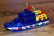 Matchbox Sea Rescue Boat, Hydro Police, Blue, Loose 1/64