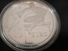 10 euromunt Spanje 2004 Proof in capsule Zomerspelen