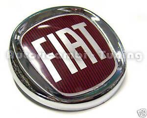 Fregio Stemma Posteriore Logo FIAT Nuova PANDA PUNTO EVO  95mm