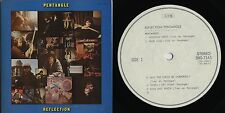 Pentangle - Reflection JAPAN WHITE LABEL PROMO LP with INSERTS Promo Booklet
