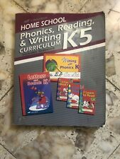 A Beka K5 Phonics, Reading & Writing, I Can Read Well J & K And Writing Tablets