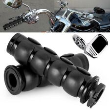 Black Hand Grips +Throttle Boss Fit Honda VT Shadow Ace Classic 500 700 750 1100