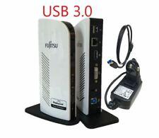 Fujitsu PR08 Port Replikator USB 3.0 Docking station Netzteil USB Kabel  TOP