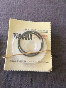 Yamaha Piston Ring Nos .50 Yas1 YAS2 AS1 183-11601-21