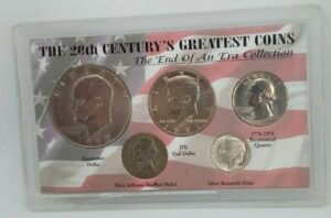 The 20th Century's Greatest Coins The End Of An Era Collection Cracked Holder