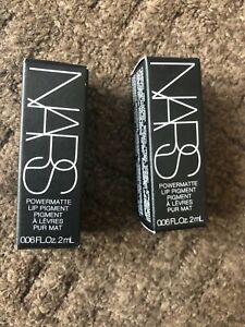 """Nars Powermatte Lip Pigment """"Starwomen"""" 2ml x 2 new"""
