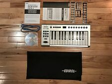 Roland Edirol PCR-1 USB MIDI Keyboard Controller-MINT WITH ALL MANUALS AND PARTS