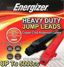 Energizer 12v Van Car Up To 5000cc Engine Heavy Duty Jump Leads Booster Cables
