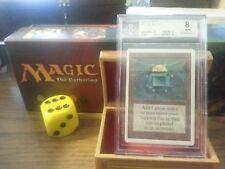 Unlimited Mox Emerald BGS Graded 8 Nr Mint Magic The Gathering MTG 1993 Power 9