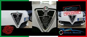 Alfa Romeo GIULIETTA Schild Vorderseite Logo Auto Gitter Vorne Set Tuning VW