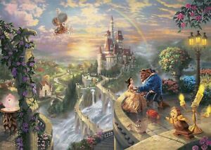 2000 Piece Jigsaw Puzzle Beauty and the Beast Beauty and the Beast Falling