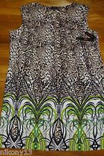 NWT Beautiful Plus SIze Designer Animal Print Dress by ILE New York, 24W