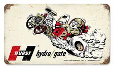 Original du pot Floor shift Hydro Gate drag race us retro sign tôle bouclier bouclier
