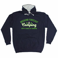 Camping With A Chance Of Drinking HOODIE hoody Top Tent Funny birthday gift