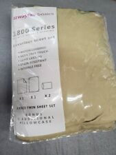 New Twin Sheet Set Extra Pillowcase Wayfair Basics Luxurious Premier Quality