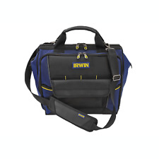 Irwin TECH CENTRE TOOL BAG 400mm 35 Pockets & Slots, Tired Fold-Down Storage