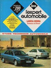 Revue Technique Automobile - Lancia Dedra - Essence et Diesel - N° 280 - Ed 1990