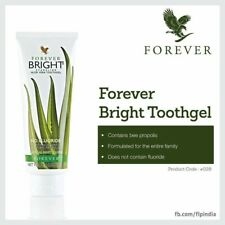 Forever Living Aloe Vera Tooth Gel - Bright-NATURAL MINT- No Fluoride Toothpaste
