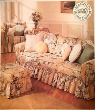 NEW/VINTAGE 1997 'MC CALL'S' SLIP COVER ESSENTIALS PATTERN 8660 ONE SIZE