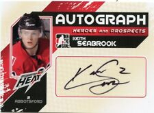 10/11 ITG HEROES & PROSPECTS AUTOGRAPH AUTO KEITH SEABROOK HEAT *43441