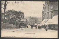 Postcard Blackheath Village in Greenwich Lewisham London by Wrench posted 1907