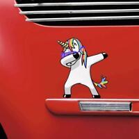 Lovely Unicorn Car Sticker Window Trunk Cartoon Funny Decal Vinyl Waterproof New