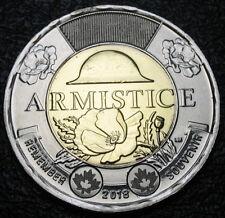 RCM - 2018 - $2 - 100th Anniv. of the Armistice - Poppy - BU ( Non-coloured )