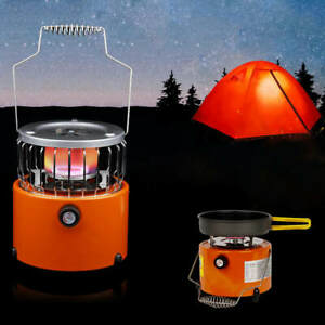 Portable Camping Stove 2 In 1 Heater 2000W Heating Cooker For Cooking