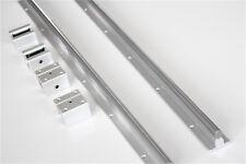 2x 12mm Sbr12 L300 1500mm Linear Rail Slide Shaft Rod Guide 4x Sbr12uu Blocks