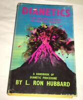 Dianetics L. Ron Hubbard 1968 UK Ed. Scientology Organisation London Ephemera