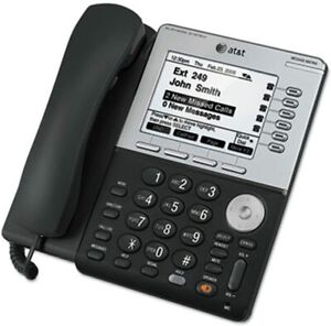 AT&T SB35031 SYN248 CORDED DESKSET PHONE SYSTEM FOR USE W SB35010 ANALOG GATEWAY