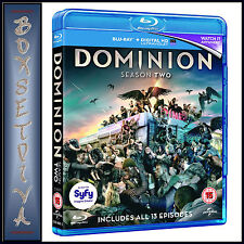 DOMINION - COMPLETE SEASON 2  *BRAND NEW BLURAY **