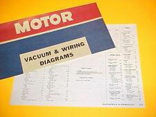 1975 1976 OLDSMOBILE CUTLASS 442 VISTA CRUISER OMEGA VACUUM+WIRING DIAGRAMS