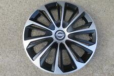 4 Alu-Design Radkappen 15 Zoll STRONG schwarz/silber für Nissan