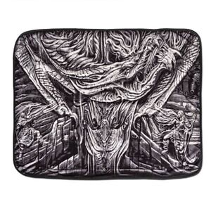 "NEW SKYRIM Imperial Logo Fleece Blanket (43"" x 60"") Officially Licensed Bethesda"
