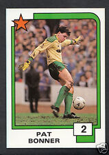 PANINI CALCIO CARD - 1988 SUPERSTARS CALCIO-N. 2-Pat Bonner-celtica