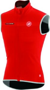 Castelli Men's Fawesome 2 Cycling Vest Size XXL Red