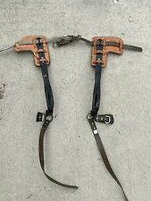 Buckingham Adjustable Pole Linemen Climbing Climbers Spikes Hooks Spurs Gaffs