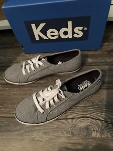 Keds Coursa Women's Sneakers New Heathered Gray Size 7.5 Shoe ( Box Says Navy )