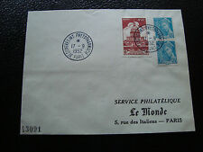 FRANCE - enveloppe 17/9/1952 (cy50) french