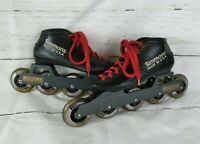 Simmons Boots Inline Speed Skates Womens 8 Mogema Racing Frames 80 mm Wheels
