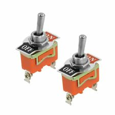 ON -OFF Toggle Switch+Waterproof Cap Dashboard XT-21BF 15A 250VAC 4 Pin DPST