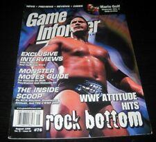 Vintage Game Informer Magazine Nintendo PS Nes Sega video games 1999 issue 76