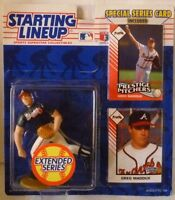 "1993  GREG MADDUX - Starting Lineup ""Extended"" - SLU - Figurine - Atlanta Braves"