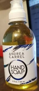 Andrea Carrell Liquid Hand Soap 8oz. Bottle with refreshing, clean scent