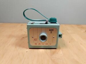 Vintage Savoy Mark II Box Camera Girl Scout Colors 620 Film