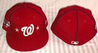 7 3/8  WASHINGTON NATIONALS New Era 2019 MLB All Star 59fifty fitted hat ASG