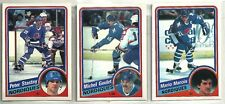 1984-85 O-Pee-Chee Hockey 18-card Quebec Nordiques Team Set  Michel Goulet