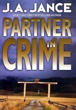 J. P. Beaumont Novel: Partner in Crime 16 by J. A. Jance (2002, Hardcover)