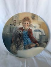 """""""Annie And Sandy"""" First Edition 1982 Ceramic Plate - Knowles Bradford Exchange"""